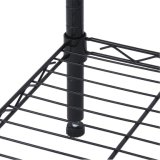 Черный шкаф металла провода для домашнего живущий хранения пользы комнаты