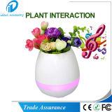 Flowerpot senza fili astuto di musica di Bluetooth delle suonerie musicali della pianta di tocco (MF-02)