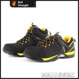 Zapato de seguridad de cuero nobuck con EVA+TPU+suela exterior de goma (SN5438)