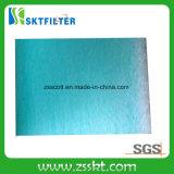 Paragem de pintura verde e branco para o filtro da cabine de spray