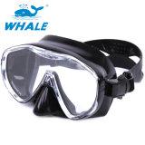 Visão clara de adultos Snorkeling máscara de mergulho