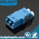 LC monomodo Adaptadores de obturador de fibra óptica