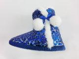 Ботинки снежка зимы Sequins славные теплые для девушок