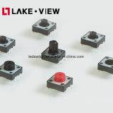 Snap-in&Suface Interrupteur tactile type de montage pour les produits de produits blancs
