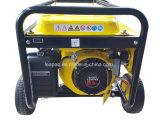 3.0 Kwの車輪及びハンドルのPタイプ携帯用ガソリン発電機
