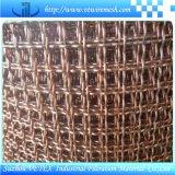 アルカリ抵抗のステンレス鋼のひだを付けられた金網