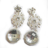 Fashion Party Platinum Plating Color Pendientes Doble Pendientes