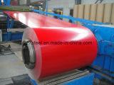 PPGI / Mejor Precio Cobre recubierto de acero Coil / Roll / Bobina de acero prepintado impreso PPGI materiales para techos Fabricante