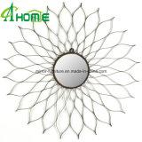 Redondo de hierro caliente de Venta baratos Framde espejo de pared para la decoración del hogar