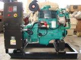 groupe électrogène diesel marin de 110kw Cummins par 6BTA5.9g2 à 60Hz