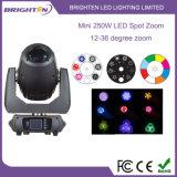 Supermini250w LED Punkt-bewegliche Hauptlichter für Stadium