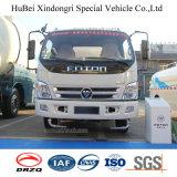 camion dello spruzzatore di trasporto dell'acqua dell'euro 4 di 7cbm 7ton Foton con Cummins Engine