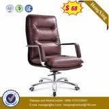 Présidence exécutive élevée ergonomique de bureau de bossage de cuir arrière (HX-NH001)