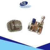 Mini estándar del corchete ortodóntico del metal MIM con 345hooks