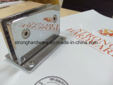 Braçadeira reta do vidro do banheiro da imobilidade da borda 90degree de Sh-01s