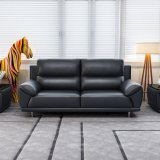 居間のための現代様式の余暇の革ソファー
