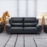 Sofá moderno do couro do lazer do estilo para a sala de visitas