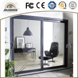 Porte coulissante en aluminium de certificat de la CE