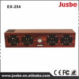 Профессиональный диктор домашнего театра звуковой системы звуковых оборудований Ex254