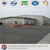 Structure en acier Sinoacme Bâtiment de stockage avec le Bureau de l'Administration