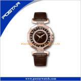 주문 로고는 Elegence 물 저항하는 매력 다이아몬드 손목 시계를 본다