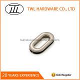 Oeillets ovales en alliage de zinc en métal de diverse boucle de mode pour des sacs