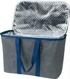 Snapbasket熱XL 40リットルの補強された底が付いている再使用可能なトートバック: 折りたたみ食料品の買い物のバスケット