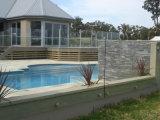 Sistema de balaustrada de vidrio sin marco para terraza