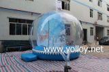 Exterior transparente inflable Bola de Nieve Publicidad