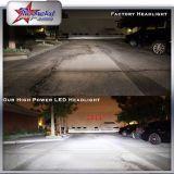 보편적인 차, 팬을%s 가진 H4 Headlamp 단 하나와 겹살 LED 헤드라이트를 위한 LED 헤드라이트의 제조