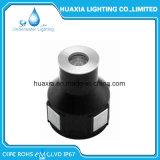 Weißes 1W IP67 Tiefbau-LED Licht RGB-