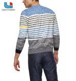 長い袖が付いている人の100%年の綿によって編まれるプルオーバー