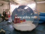 De koele Bol van de Sneeuw van het Festival van Kerstmis DIY in Menselijke Grootte