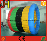 0.9mm PVC防水シートの大人のための膨脹可能なローラーの車輪