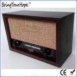 携帯用レトロ木FM/Amラジオ(XH-FM-010)