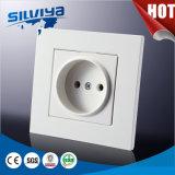 Non-Messa a terra una base della parete Socket/ABS di Pin del gruppo 2/standard a massa europeo