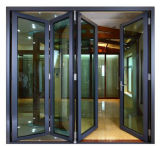Design moderne en aluminium bi-fold -Door