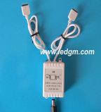 DC5-24V 5050/3528のLEDの滑走路端燈のためのリモート・コントロール小型調光器との小型LEDのコントローラRGBカラー