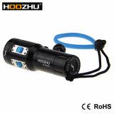 El salto 2600lumens máximo ligero video de Hoozhu V13 impermeabiliza el 120m