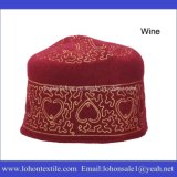 Wolle-Filz-moslemische Gebet-Hüte, moslemische Gebet-Schutzkappe, afrikanische traditionelle Schutzkappen
