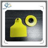 Icar ha autorizzato la qualità Lf/HF/modifica orecchio animale di frequenza ultraelevata RFID