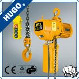 Alzamiento de cadena eléctrico de Nitchi de 2 toneladas con la carretilla eléctrica del monocarril