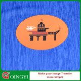 Etiqueta engomada del traspaso térmico de la calidad de la variación de Qingyi para la ropa