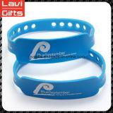 Buntes kundenspezifisches Silikon-Gummi-Armband mit Förderung