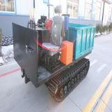 Puyi carros de transporte com rodas e esteiras de borracha para 1.5tons
