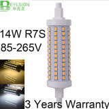 R7S 14W2835 SMD LED lámpara de 118mm de maíz