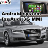 Cámara HD Multimedia GPS del coche Interface de video para Audi A7, A8, Q3, Q5, Q7