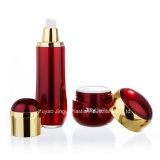 China especializa-se em uns frascos cosméticos plásticos luxuosos da fabricação