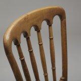 Silla de madera del restaurante de la parte posterior clásica del colmo de los muebles del restaurante (C720-15)