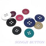 Accesorios de prendas de vestir de aleación de metal de 4 hoyos de botón botón